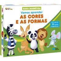 Caixa Magnética Panda: Vamos Aprender as Cores e as Formas