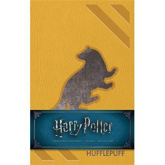 Caderno Pautado Harry Potter - Hufflepuff Badger A5