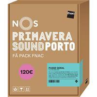 Fã Pack FNAC Nos Primavera Sound 2020 – Passe Geral | Preço: 120€ Pack + 8.85€ Custos de Operação