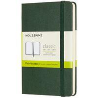 Caderno de Bolso Liso Moleskine - Verde Myrtle