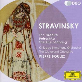 Stravinsky | The Firebird, The Rite of Spring & Petrushka (2CD)
