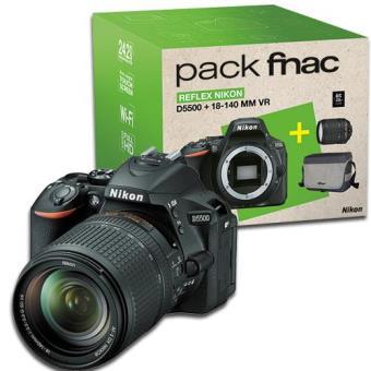 Nikon D5500 + AF-S DX 18-140mm f/3.5-5.6G ED VR Pack Fnac
