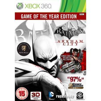 Batman  Arkham City GOTY Edition Xbox 360 - Compra jogos online na ... d81d7d8b569