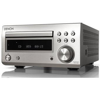 Micro Recetor HiFi Bluetooth Denon RCD-M41 - Cinzento