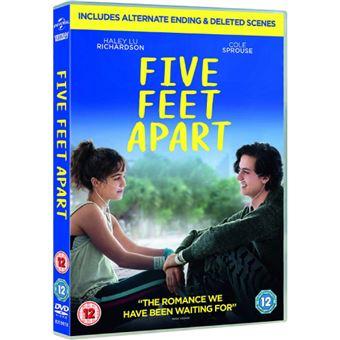 Five Feet Apart - DVD Importação