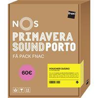 Fã Pack FNAC Nos Primavera Sound 2020 – Voucher Diário | Preço: 60€ Pack + 4.43€ Custos de Operação