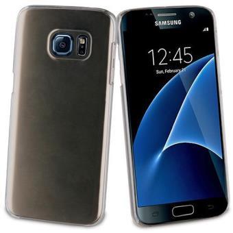 Muvit Capa Cristal + Película Vidro Temperado para Galaxy S7