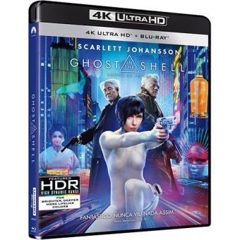 Ghost in the Shell: Agente do Futuro (4K Ultra HD + Blu-ray)