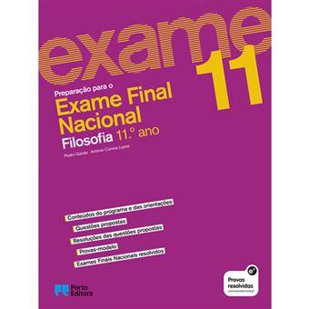 Preparação Para o Exame Nacional - Filosofia 11º Ano
