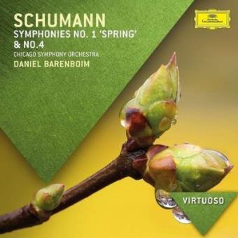 Schumann- symphonies nos. 1 & 4