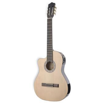 Guitarra Clássica para Esquerdinos Stagg C546TCE-LH N