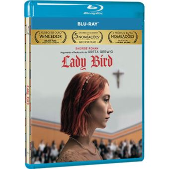 Lady Bird: A Hora de Voar - Blu-ray