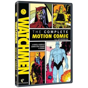 Watchmen Complete Motion Comic - DVD