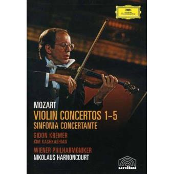Violin Concertos 1-5 - DVD