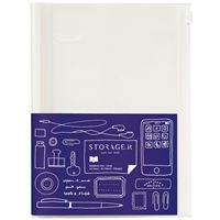 Caderno Pautado e Quadriculado Mark's Storage It Solidcolor Branco A5