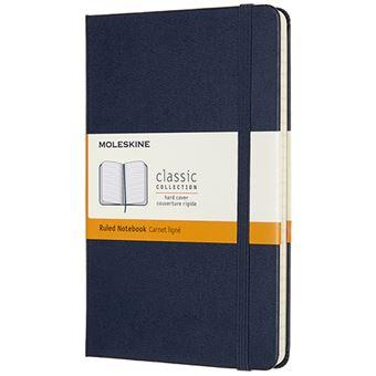 Caderno Pautado Moleskine Médio - Azul
