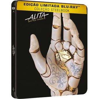 Alita: Anjo de Combate - Edição Steelbook - Blu-ray