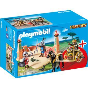 Playmobil History 6868 Combate de Gladiadores