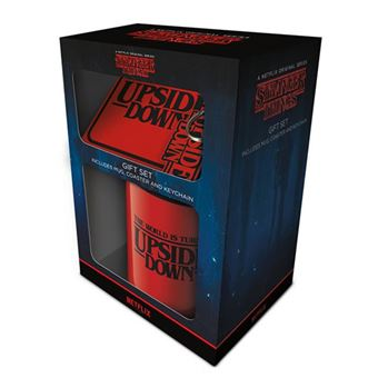 Caneca Stranger Things - Gift Set