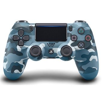 Comando Dualshock 4 Blue Camouflage - PS4