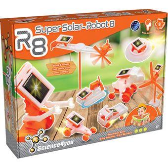 R8 - Super Solar - Robot 8 - Science4yoy