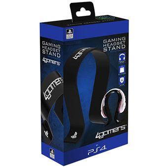 Suporte 4Gamers para Auscultadores - Preto - PS4