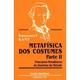 Metafísica dos Costumes Parte II