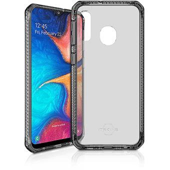 Capa Itskins Hybrid Clear para Samsung Galaxy A20e - Preto
