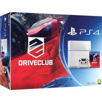 Consola Sony PS4 500GB (Branca) + DriveClub PS4