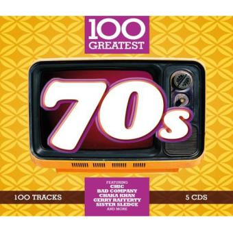 100 Greatest 70s - 5CD