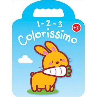 1-2-3 Colorissimo - Coelho + 2 Anos