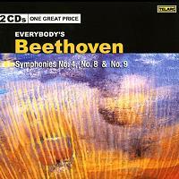 Symphonies No.4,8 & 9