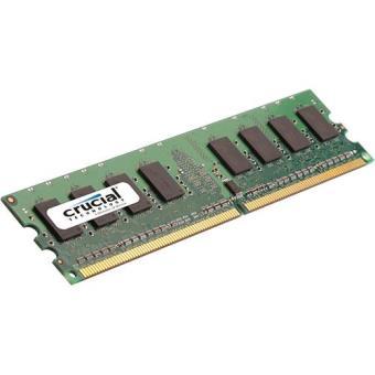 Crucial Memória Ram Dimm 2gb Ddr2 800 Ct25664aa800 Memória Desktop Compra Na Fnac Pt