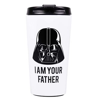 Copo de Viagem Star Wars: Darth Vader - I Am Your Father