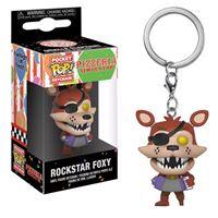 Funko Pop! Porta-Chaves Pizzeria Simulator: Rockstar Foxy
