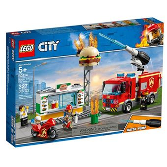 LEGO City Fire 60214 Combate ao Fogo no Bar de Hambúrgueres