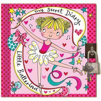 Diário Secreto com Cadeado - Little Ballerina