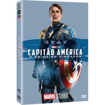 Capitão América: O Primeiro Vingador - Capa de Colecionador - DVD