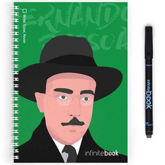 Caderno Pautado InfiniteBook - Fernando Pessoa A5