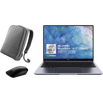 Pack Computador Portátil Huawei MateBook 14 | i7-10510U + Mochila Huawei + Rato Huawei
