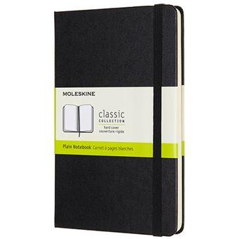 Caderno Liso Moleskine Médio - Preto