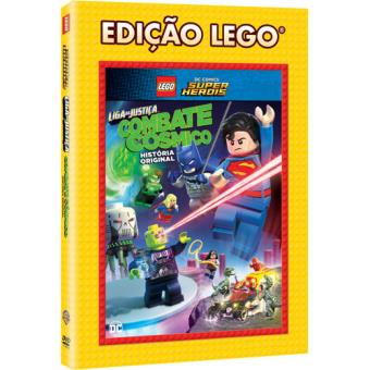 LEGO DC Comics Super Heróis: Liga da Justiça - Combate Cósmico (DVD)