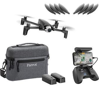 Drone Parrot Anafi - Extended + 8 Hélices Extra - Preto