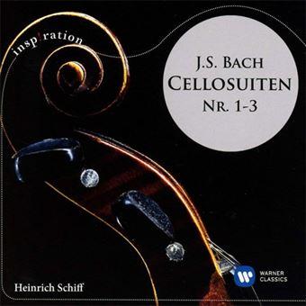 Bach: Cello Suites No 1-3 - CD