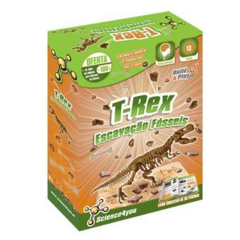 Escavação Fósseis T-Rex