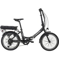 Bicicleta Eléctrica Dobrável WAYSCRAL Takeaway E100 20'' - Preto