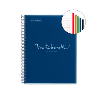 Notebook Pautado Miquelrius NB5, 120 Folhas - A5 Azul Navy