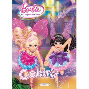 Barbie E O Segredo Das Fadas Colorir Varios Compra Livros Na