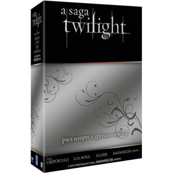 Coleção A Saga Twilight – 4 Filmes