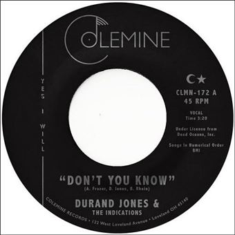 Dont You Know - Single Vinil 7''
